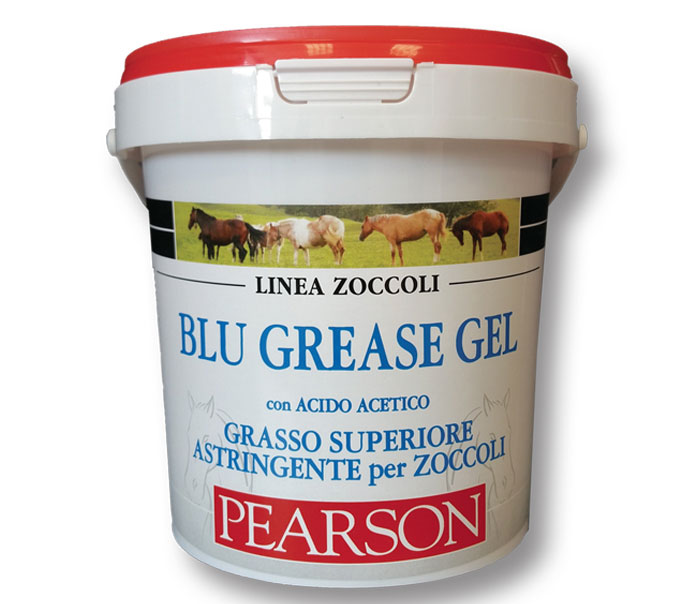 Grasso per zoccoli di Cavallo Blu Grease Gel